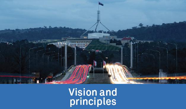 Vision and principles