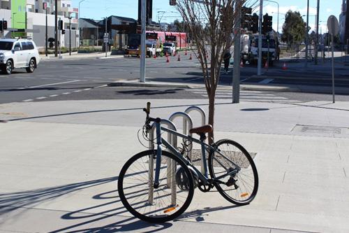 Bike rails