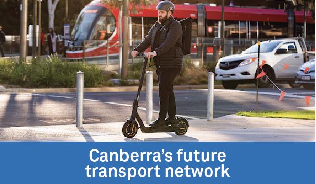 Canberra's future public transport network