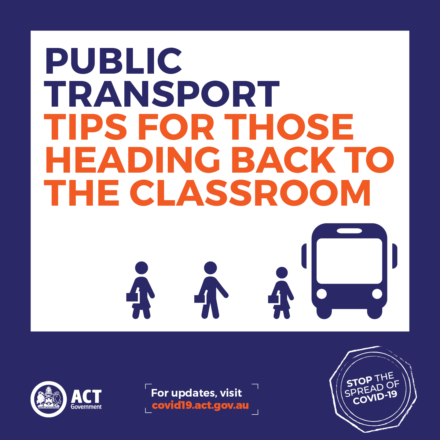 Public transport tips for those heading back to the classroom