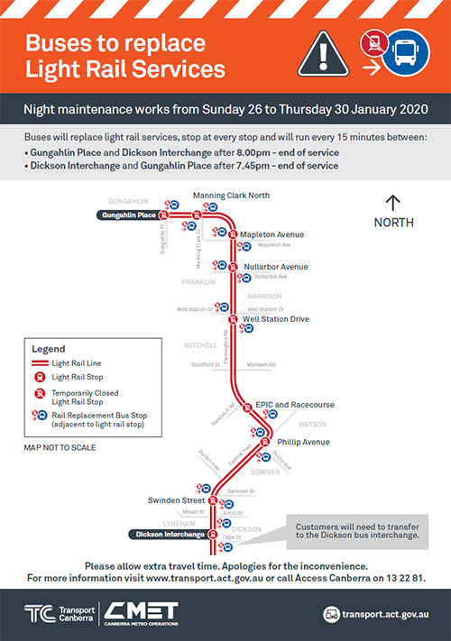 Buses to replace Light rail