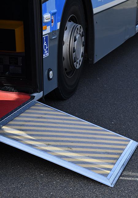 Bus ramp