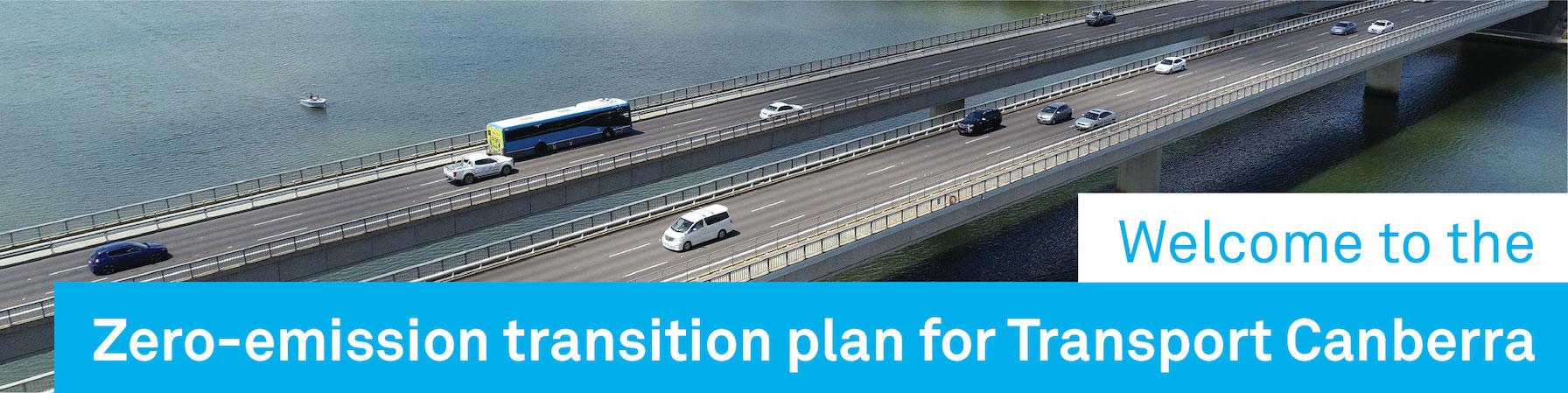 Zero emissions transition plan for Transport Canberra